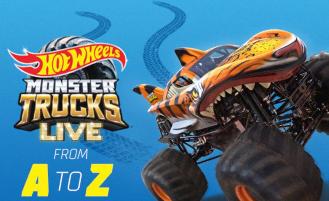 Hot Wheels Monster Trucks Live A-Z