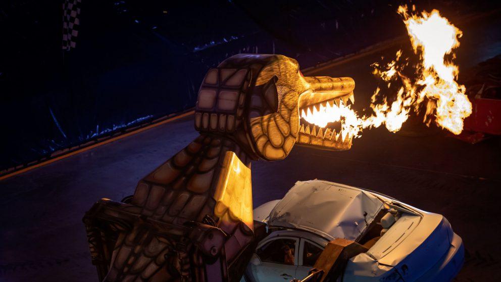 He is Megasaurus, Hear Him Roar!