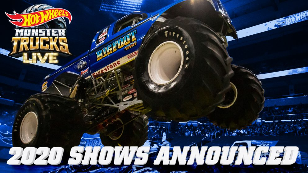 Monster Truck Show 2020.Hot Wheels Monster Trucks Live
