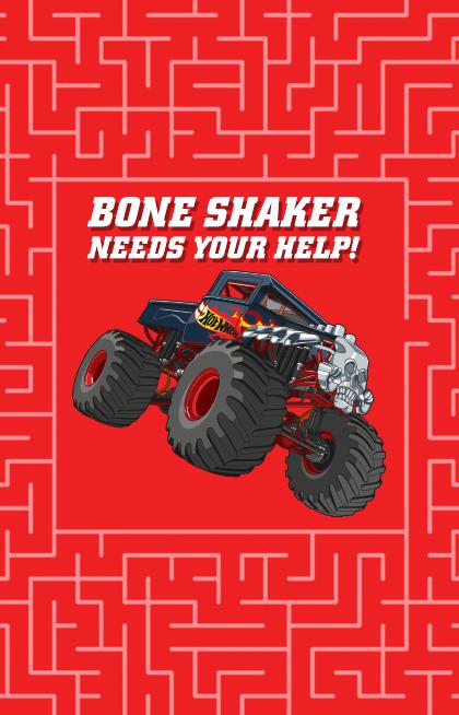 Puzzle Maze Bone Shaker