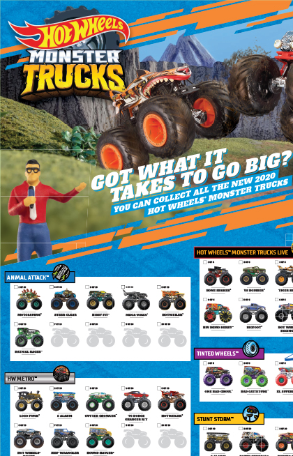 Hot Wheels Monster Trucks Live